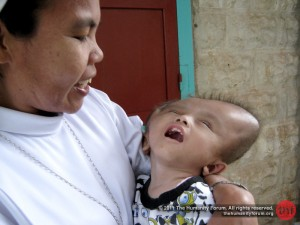 Rainel with Sr. Anysia of St. Luigia Clinic in Sikakap, Mentawai