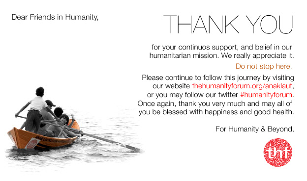 Update Fundraising In Jakarta  The Humanity Forum  For Humanity
